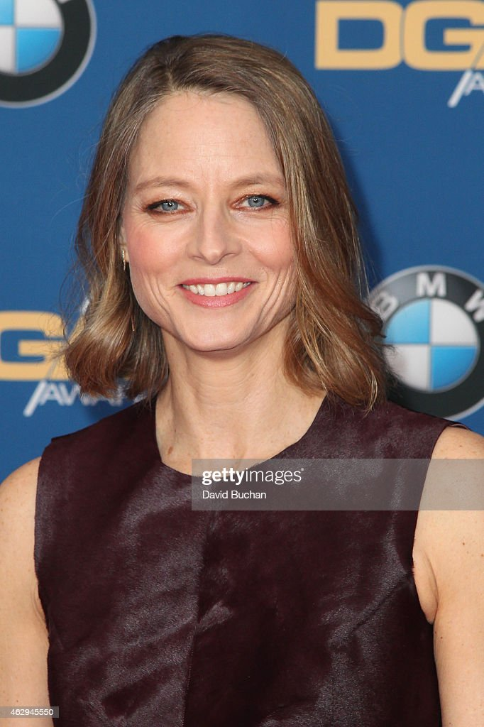 Actress/director <a gi-track='captionPersonalityLinkClicked' href=/galleries/search?phrase=Jodie+Foster&family=editorial&specificpeople=204488 ng-click='$event.stopPropagation()'>Jodie Foster</a> attends the 67th Annual Directors Guild Of America Awards at the Hyatt Regency Century Plaza on February 7, 2015 in Century City, California.