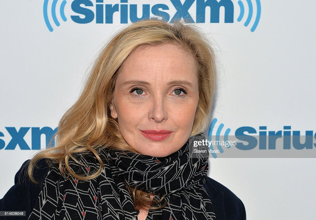 Actress/director <a gi-track='captionPersonalityLinkClicked' href=/galleries/search?phrase=Julie+Delpy&family=editorial&specificpeople=201914 ng-click='$event.stopPropagation()'>Julie Delpy</a> visits SiriusXM Studios on March 9, 2016 in New York City.
