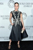 Actress/director Katie Aselton arrives at The Paley Center for Media's 2013 benefit gala honoring FX Networks with the Paley Prize for Innovation...