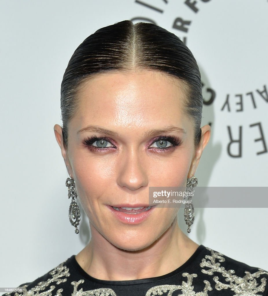 Actress/director <a gi-track='captionPersonalityLinkClicked' href=/galleries/search?phrase=Katie+Aselton&family=editorial&specificpeople=6457083 ng-click='$event.stopPropagation()'>Katie Aselton</a> arrives at The Paley Center for Media's 2013 benefit gala honoring FX Networks with the Paley Prize for Innovation & Excellence at Fox Studio Lot on October 16, 2013 in Century City, California.