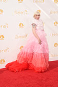 Actress/director Lena Dunham attends the 66th Annual Primetime Emmy Awards held at Nokia Theatre LA Live on August 25 2014 in Los Angeles California