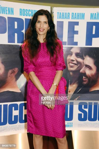 Actress/director Maiwenn Le Besco attends 'Le Prix Du Succes' Paris Premiere at Cine UGC Cite Les Halles on August 29 2017 in Paris France