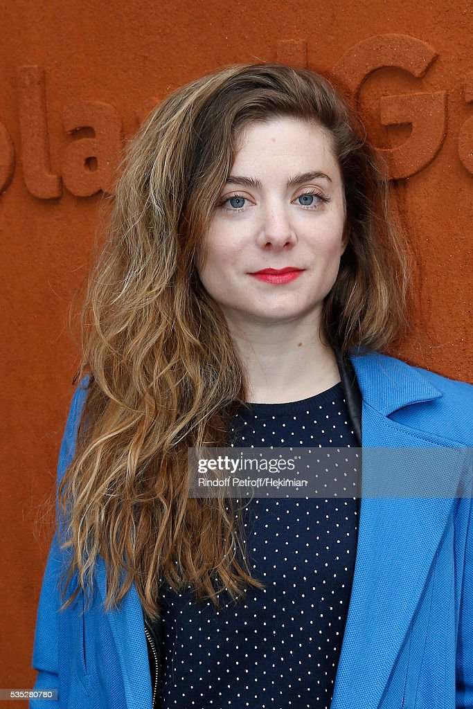 Actresse Sarah Suco attends Day Height of the 2016 French Tennis Open at Roland Garros on May 29, 2016 in Paris, France.