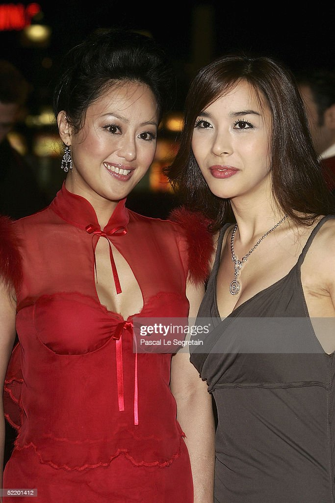 Actressed Teresa Cheung and Harisu arrive for the 'Tao Se' Premiere at the Zoo Palast Theatre during the 55th annual Berlinale International Film...