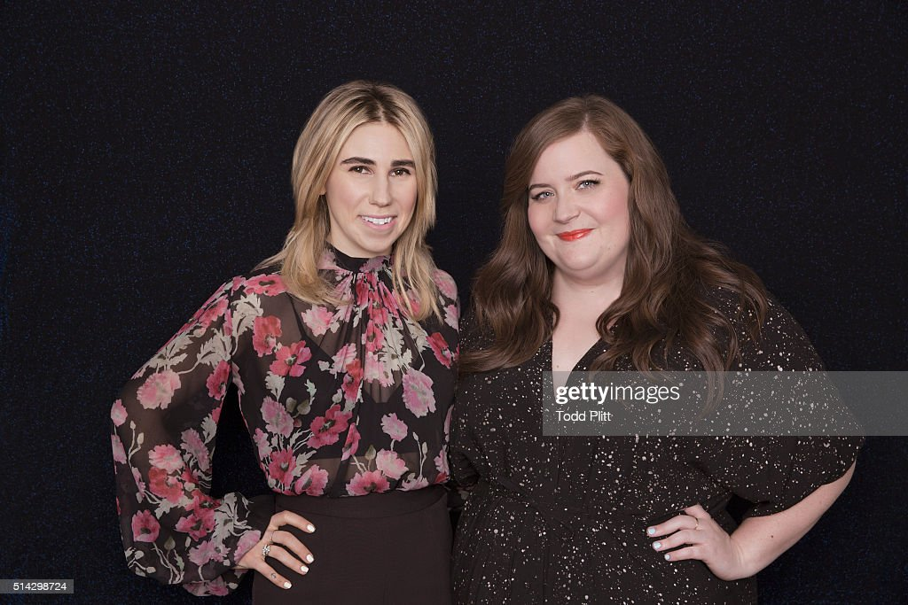 Aidy Bryant and Zosia Mamet, USA Today, March 4, 2016