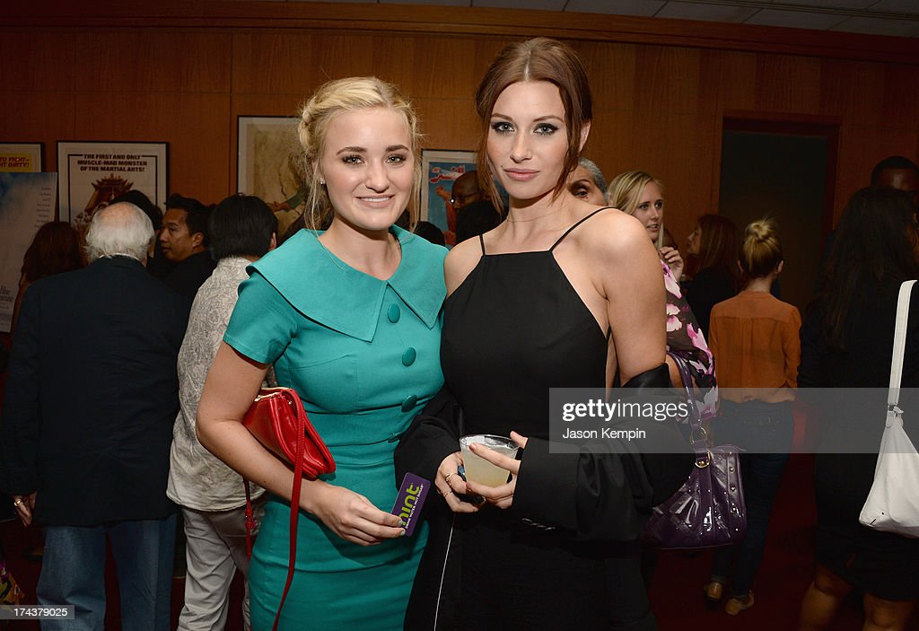 Actresses AJ Michalka (L) and Aly Michalka attend the afterparty for the premiere of AFI & Sony Picture Classics' 'Blue Jamsine' at the AMPAS Samuel Goldwyn Theatre on July 24, 2013 in Beverly Hills, California.