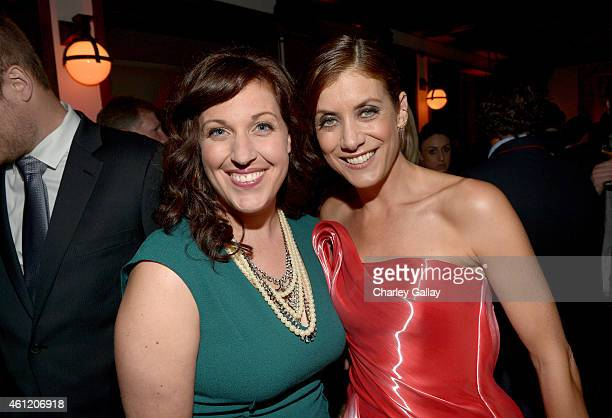 Actresses Allison Tolman and Kate Walsh attend Audi celebrates Golden Globes Week 2015 at Cecconi's Restaurant on January 8 2015 in Los Angeles...