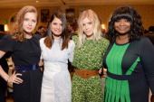 Actresses Amy Adams Melonie Diaz Kate Mara and Octavia Spencer attend the 14th annual AFI Awards Luncheon at the Four Seasons Hotel Beverly Hills on...