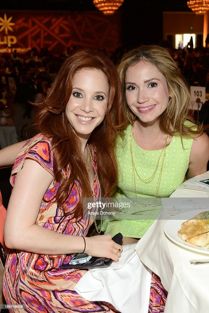 Actresses Amy Davidson and Ashley Jones attend Step Up Women's Network 10th annual Inspiration Awards at The Beverly Hilton Hotel on May 31, 2013 in Beverly Hills, California.