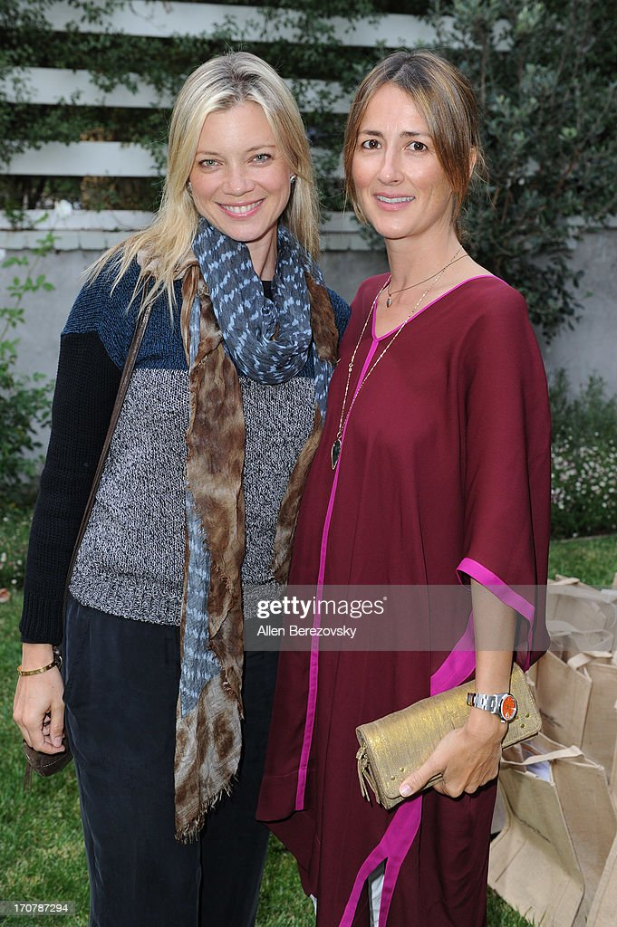 Actresses <a gi-track='captionPersonalityLinkClicked' href=/galleries/search?phrase=Amy+Smart&family=editorial&specificpeople=239532 ng-click='$event.stopPropagation()'>Amy Smart</a> (L) and <a gi-track='captionPersonalityLinkClicked' href=/galleries/search?phrase=Anna+Getty&family=editorial&specificpeople=214046 ng-click='$event.stopPropagation()'>Anna Getty</a> attend the 'Just Label It' (GMO labeling) campaign awareness seminar hosted by Shiva Rose on June 17, 2013 in Pacific Palisades, California.