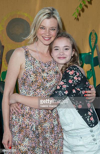 Actresses Amy Smart and Johnny Sequoyah attend The Environmental Media Association's 5th Annual LA School Garden Program Luncheon at Westminster...