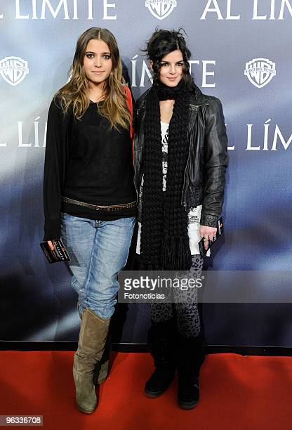 Actresses Ana Fernandez and Clara Lago attend the premiere of 'Edge of the Darkness' at Palafox cinema on February 1 2010 in Madrid Spain