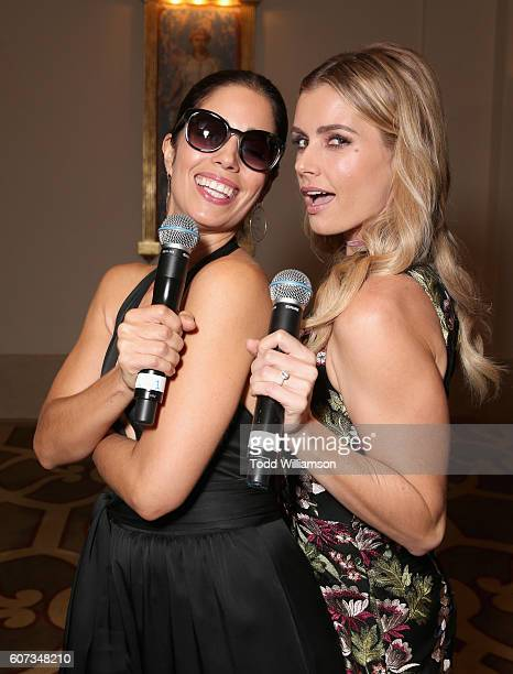 Actresses Ana Ortiz and Brianna Brown attend the National Women's History Museum 5th Annual Women Making History Brunch presented by Glamour and...