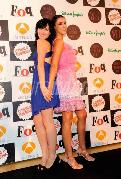 Actresses Andrea Duro and Blanca Romero attends Fisica o