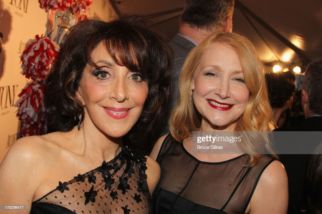 Actresses Andrea Martin (L) and Patricia Clarkson attend the 67th Annual Tony Awards at Radio City Music Hall on June 9, 2013 in New York City.