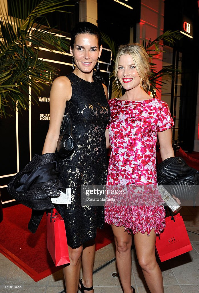 Actresses <a gi-track='captionPersonalityLinkClicked' href=/galleries/search?phrase=Angie+Harmon&family=editorial&specificpeople=204576 ng-click='$event.stopPropagation()'>Angie Harmon</a> and <a gi-track='captionPersonalityLinkClicked' href=/galleries/search?phrase=Ali+Larter&family=editorial&specificpeople=208082 ng-click='$event.stopPropagation()'>Ali Larter</a> attends Vanity Fair and CH Carolina Herrera celebrate the opening of the CH Carolina Herrera Boutique on Rodeo Drive on June 26, 2013 in Los Angeles, California.