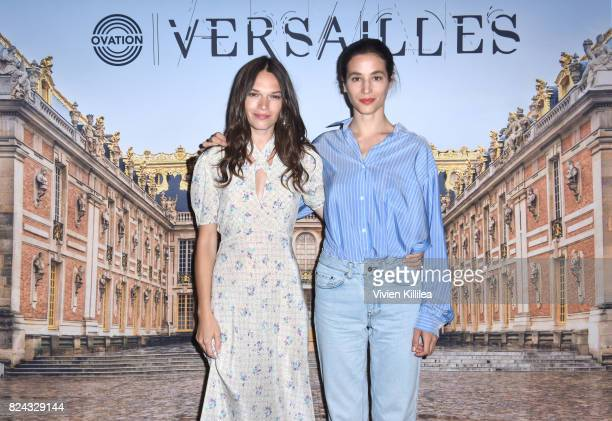 Actresses Anna Brewster and Elisa Lasowski attend Ovation Celebrates the Women of 'Versailles' At Summer TCA Tour at The Beverly Hilton Hotel on July...