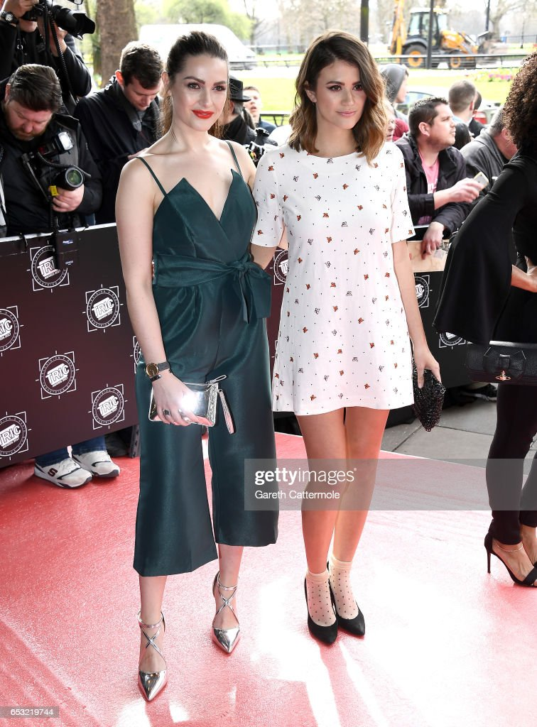 Actresses Anna Passey and Sophie Porley attend the TRIC Awards 2017 on March 14, 2017 in London, United Kingdom.