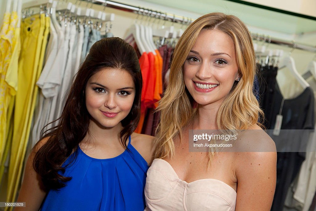 Actresses <a gi-track='captionPersonalityLinkClicked' href=/galleries/search?phrase=Ariel+Winter&family=editorial&specificpeople=715954 ng-click='$event.stopPropagation()'>Ariel Winter</a> (L) and Brianne Howey attend the Teen Vogue Back-To-School Event & Madison t Boutique Launch Party on August 11, 2012 in Pacific Palisades, California.