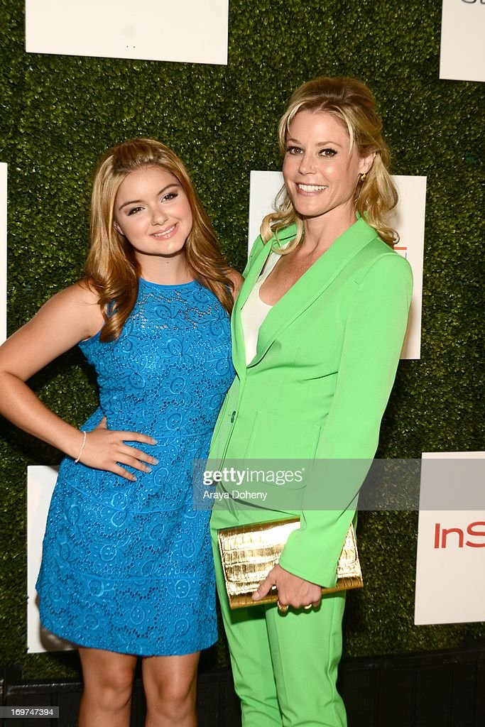 Actresses <a gi-track='captionPersonalityLinkClicked' href=/galleries/search?phrase=Ariel+Winter&family=editorial&specificpeople=715954 ng-click='$event.stopPropagation()'>Ariel Winter</a> and <a gi-track='captionPersonalityLinkClicked' href=/galleries/search?phrase=Julie+Bowen&family=editorial&specificpeople=244057 ng-click='$event.stopPropagation()'>Julie Bowen</a> attend Step Up Women's Network 10th annual Inspiration Awards at The Beverly Hilton Hotel on May 31, 2013 in Beverly Hills, California.