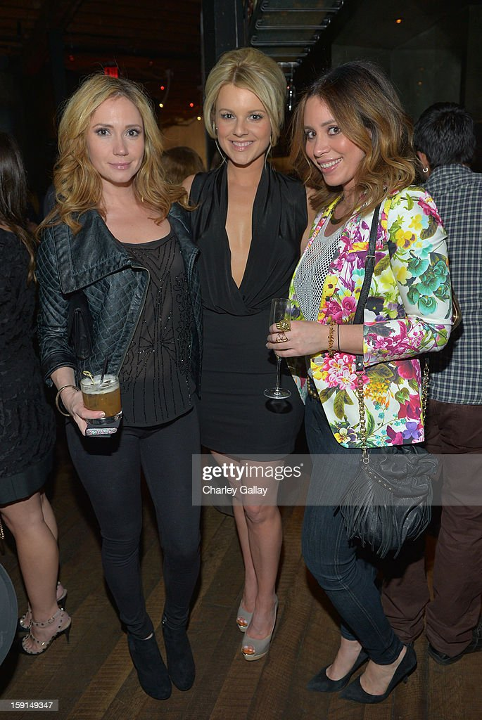 Actresses Ashley Jones, Ali Fedotowsky, and Rachael Matican attend '30 Years Of Fashion And Film And The Next Generation Of Style Icons' with W Magazine and GUESS at Laurel Hardware on January 8, 2013 in West Hollywood, California.