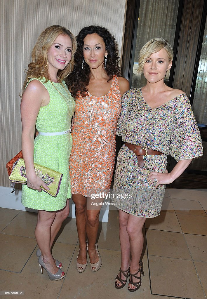 Actresses <a gi-track='captionPersonalityLinkClicked' href=/galleries/search?phrase=Ashley+Jones&family=editorial&specificpeople=226927 ng-click='$event.stopPropagation()'>Ashley Jones</a>, <a gi-track='captionPersonalityLinkClicked' href=/galleries/search?phrase=Sofia+Milos&family=editorial&specificpeople=204487 ng-click='$event.stopPropagation()'>Sofia Milos</a> and <a gi-track='captionPersonalityLinkClicked' href=/galleries/search?phrase=Kathleen+Robertson&family=editorial&specificpeople=544682 ng-click='$event.stopPropagation()'>Kathleen Robertson</a> attend Step Up Women's Network 10th annual Inspiration Awards at The Beverly Hilton Hotel on May 31, 2013 in Beverly Hills, California.