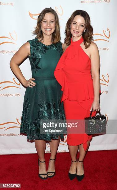 Actresses Ashley Williams and Kimberly WilliamsPaisley attend the 2017 A Funny Thing Happened on the Way to Cure Parkinson's event at the Hilton New...