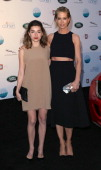 Actresses Ava DelucaVerley and Jenna Elfman attend the LA Modernism Show Sale opening night party to benefit PS ARTS at 3LABS on April 25 2014 in...
