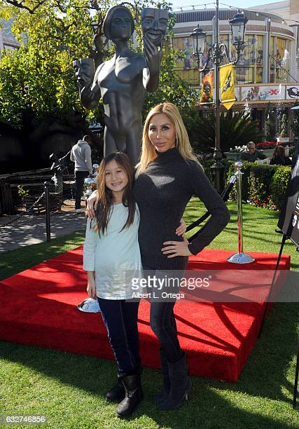 Actresses Ava Goldsmith and Tess Broussard at the 23rd Annual Screen Actors Guild Awards Greet The Actor held at The Grove on January 25 2017 in Los...