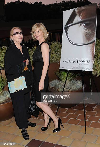 COVERAGE *** Actresses Barbara Bain and Sile Bermingham attends 'A Kiss And A Promise' Los Angeles Screening at Laemmle Sunset 5 Theatre on September...