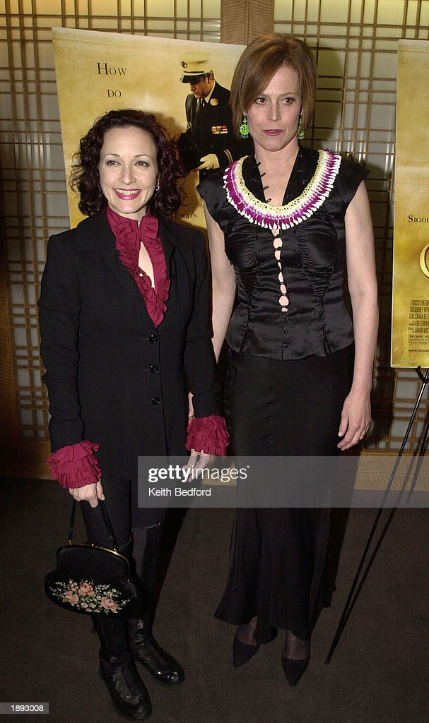 """sigourney guys Sigourney weaver with """"the guys"""" director (and husband) jim simpson at an event for new directors/new films in new york photo by brian brooks/indiewire."""