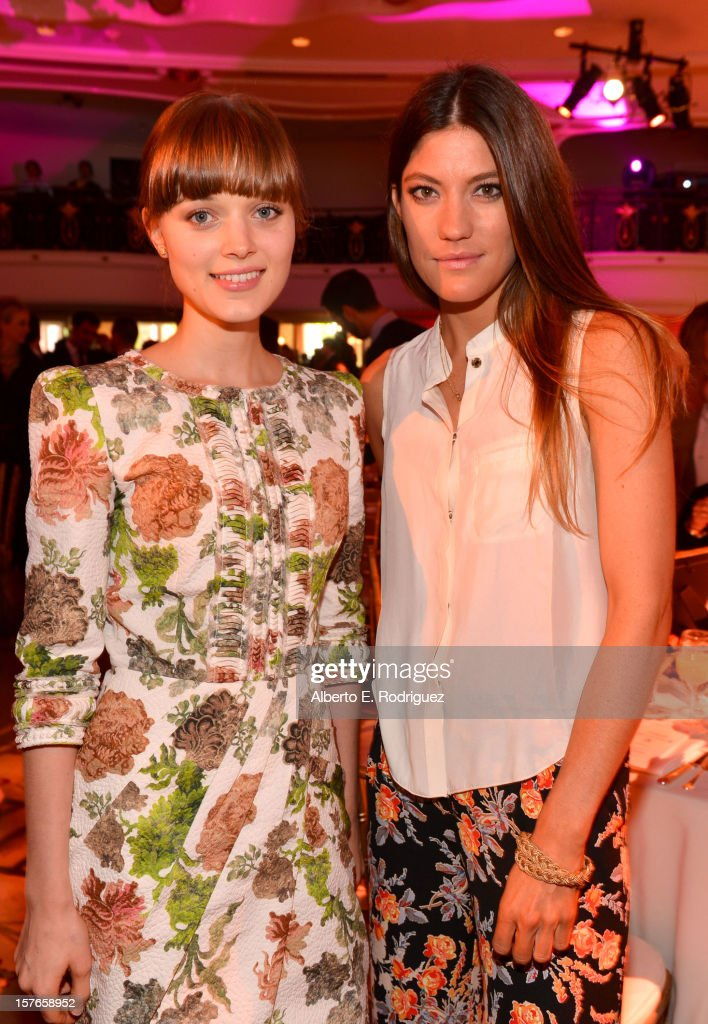 Actresses <a gi-track='captionPersonalityLinkClicked' href=/galleries/search?phrase=Bella+Heathcote&family=editorial&specificpeople=6890694 ng-click='$event.stopPropagation()'>Bella Heathcote</a> and <a gi-track='captionPersonalityLinkClicked' href=/galleries/search?phrase=Jennifer+Carpenter&family=editorial&specificpeople=595643 ng-click='$event.stopPropagation()'>Jennifer Carpenter</a> attend The Hollywood Reporter's 'Power 100: Women In Entertainment' Breakfast at the Beverly Hills Hotel on December 5, 2012 in Beverly Hills, California.