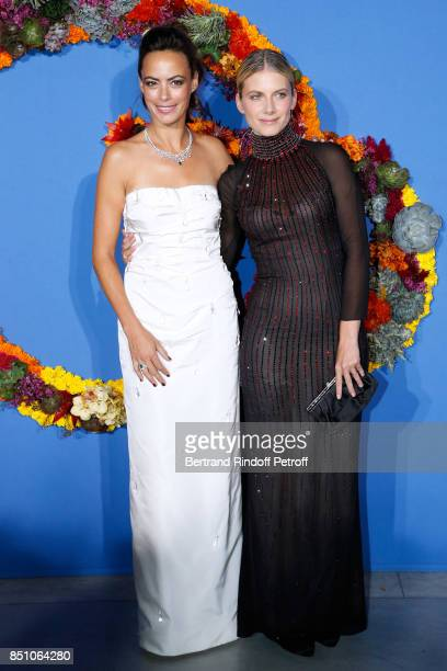 Actresses Berenice Bejo and Melanie Laurent attend the Opening Season Gala Ballet of Opera National de Paris Held at Opera Garnier on September 21...