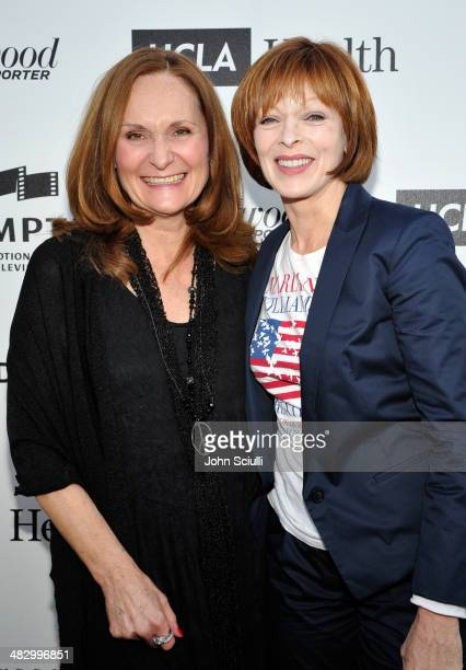 Actresses Beth Grant and Frances Fisher attend the 3rd Annual Reel Stories Real Lives Benefiting The Motion Picture Television Fund at Milk Studios...