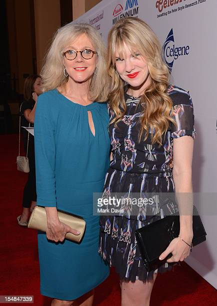 Actresses Blythe Danner and Lily Rabe attend the International Myeloma Foundation's 6th Annual Comedy Celebration hosted by Ray Romano benefiting The...