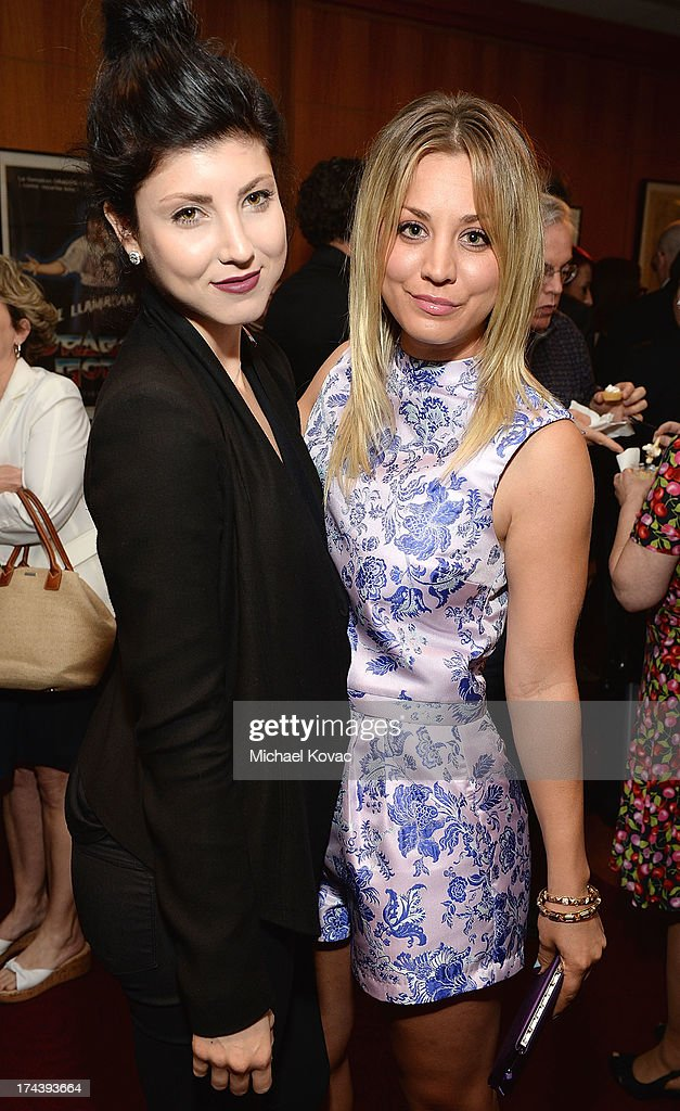 Actresses Briana Cuoco (L) and <a gi-track='captionPersonalityLinkClicked' href=/galleries/search?phrase=Kaley+Cuoco&family=editorial&specificpeople=208988 ng-click='$event.stopPropagation()'>Kaley Cuoco</a> attend the afterparty for AFI And Sony Picture Classics' Hosts The Premiere Of 'Blue Jasmine' on July 24, 2013 in Beverly Hills, California.
