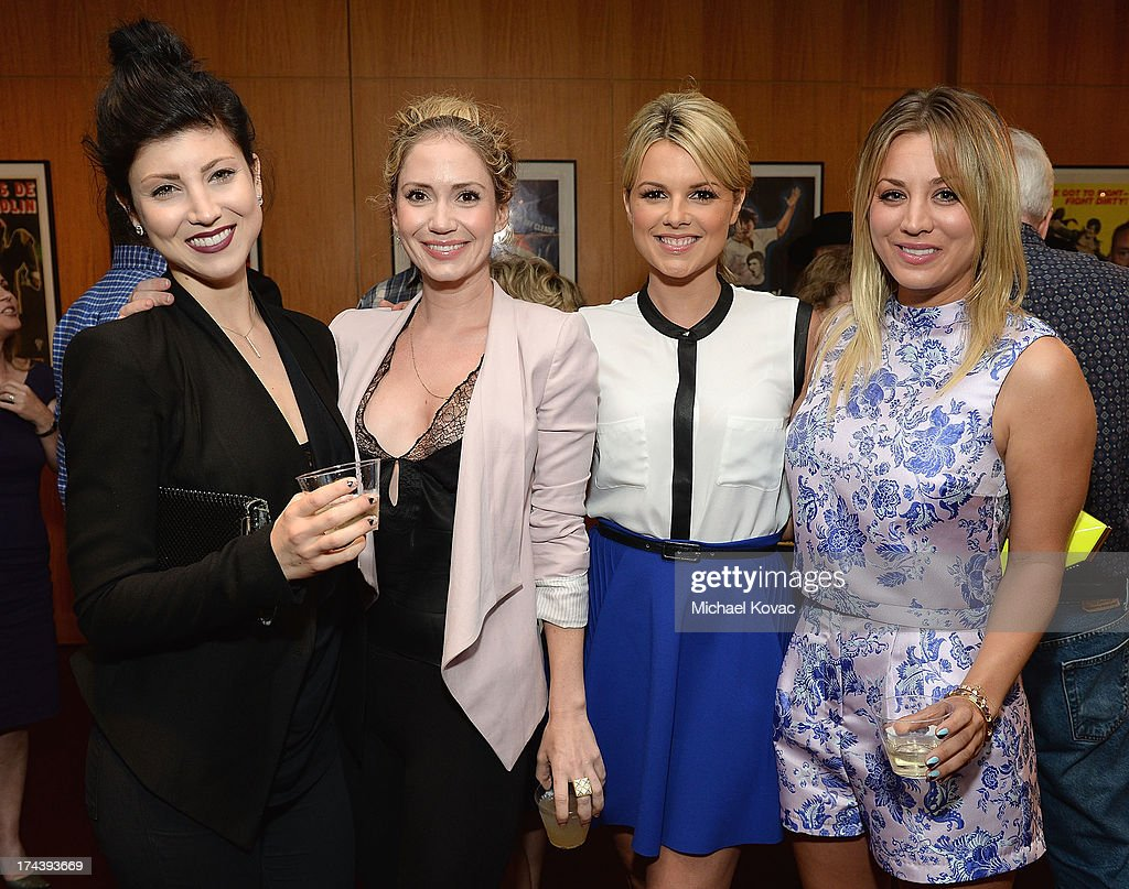 Actresses Briana Cuoco, Ashley Jones, Ali Fedotowsky and Kaley Cuoco attend the afterparty for AFI And Sony Picture Classics' Hosts The Premiere Of 'Blue Jasmine' on July 24, 2013 in Beverly Hills, California.