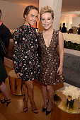 Actresses Camilla Luddington and Tina Majorino attend the 2015 Entertainment Weekly PreEmmy Party at Fig Olive Melrose Place on September 18 2015 in...