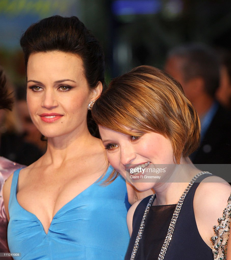 Actresses Carla Gugino and Emily Browning arrive at the UK Premiere of Sucker Punch at Vue ... Show more - actresses-carla-gugino-and-emily-browning-arrive-at-the-uk-premiere-picture-id111241005