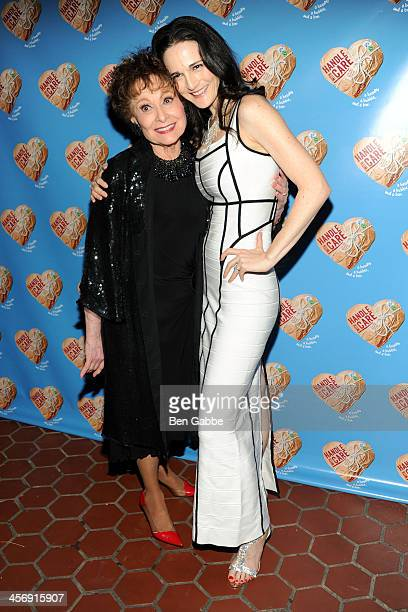 Actresses Carol Lawrence and Charlotte Cohn attend 'Handle With Care' Broadway opening night after party on December 15 2013 in New York City