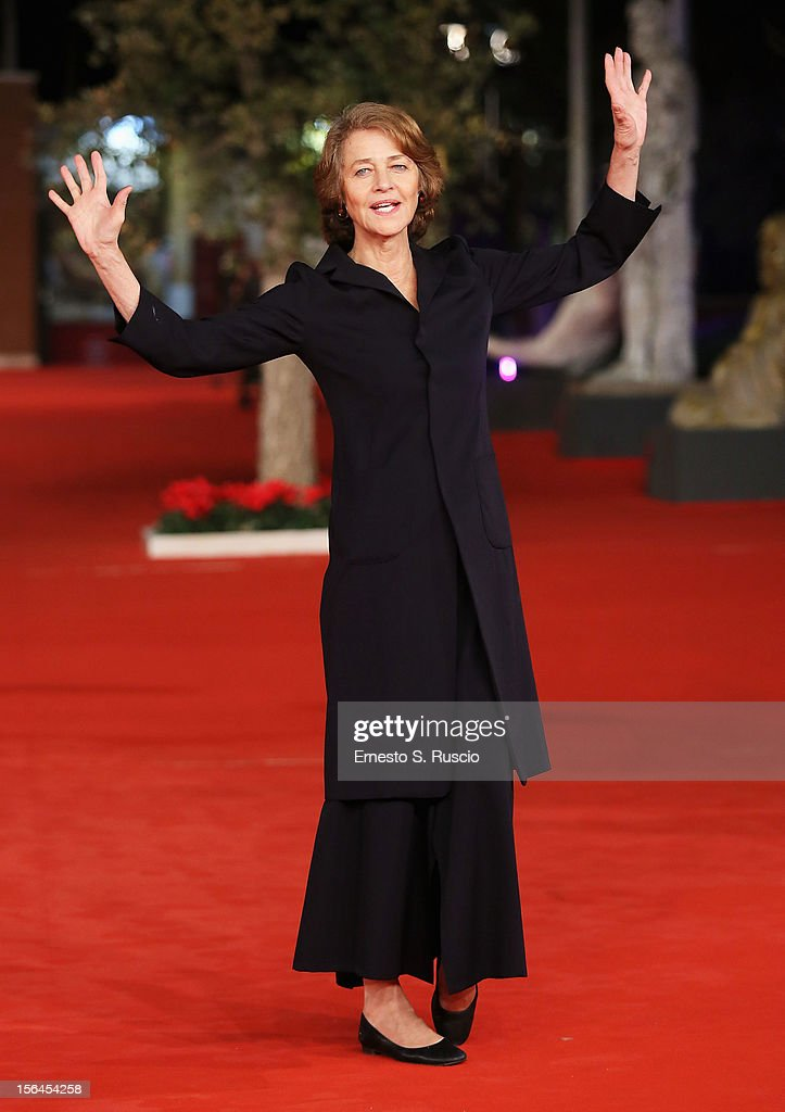 Actresses Charlotte Rampling attends the 'Tutto Parla Di Te' Premiere during the 7th Rome Film Festival at the Auditorium Parco Della Musica on November 15, 2012 in Rome, Italy.