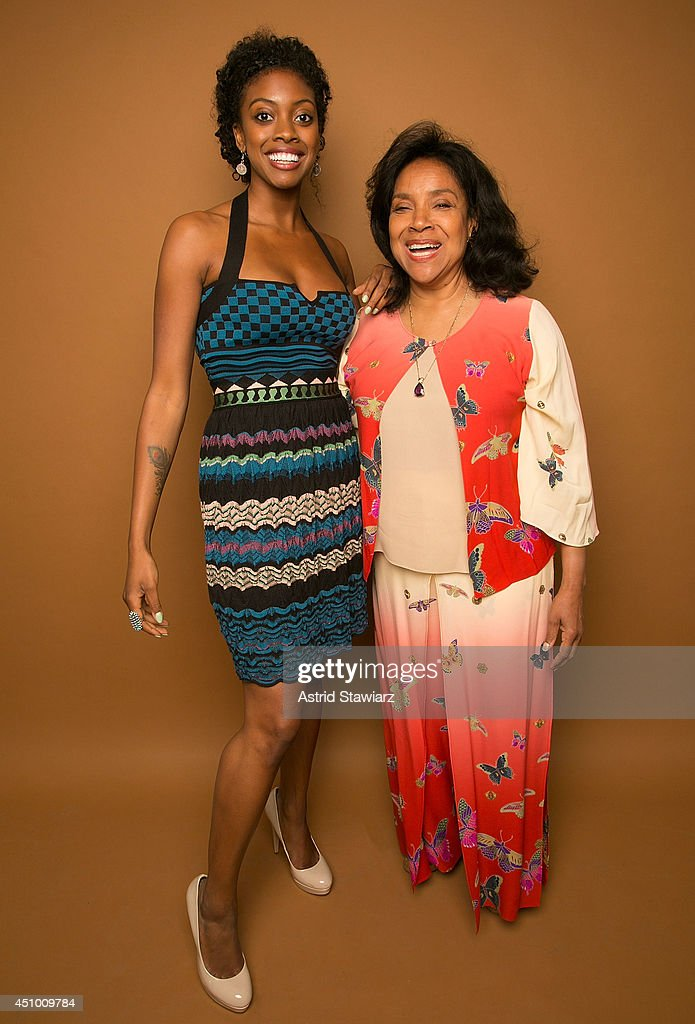 Actresses Condola Rashad and Phylicia Rashad pose for a portrait at the 2014 American Black Film Festival at the Metropolitan Pavillion on June 21...