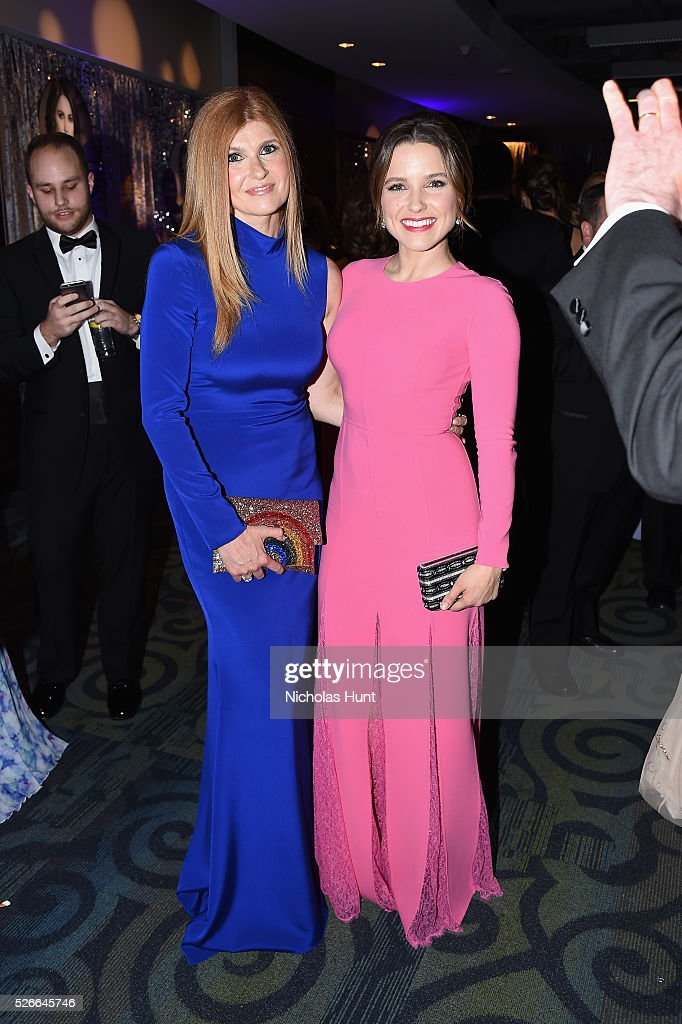 Actresses Connie Britton (L) and Sophia Bush attend the Yahoo News/ABC News White House Correspondents' Dinner Pre-Party at Washington Hilton on April 30, 2016 in Washington, DC.