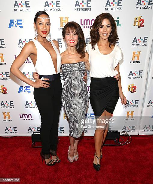 Actresses Dania Ramirez Susan Lucci and Ana Ortiz attend the 2014 AE Networks Upfront at Park Avenue Armory on May 8 2014 in New York City