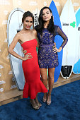 Actresses Daniella Alonso and Christina Ochoa attend the premiere of TNT's 'Animal Kingdom' at The Rose Room on June 8 2016 in Venice California