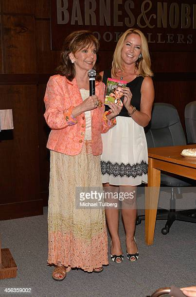 Actresses Dawn Wells and Erin Murphy attend a signing for Wells' new book 'What Would Mary Ann Do' at Barnes Noble bookstore at The Grove on...