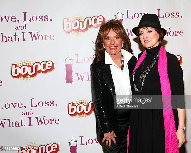 Actresses Dawn Wells and Robin Strasser wearing clothing dried with Bounce Fabric Sotner attend the Bounce® Fabric Softener Teams Up With Stage Play...