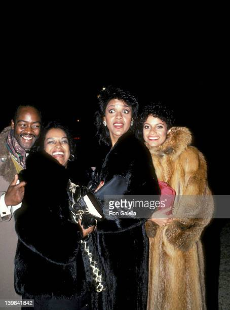 Actresses Debbie Allen and Phylicia Rashad and Otis Sallid attenidng 'The Kennedy Center Honors Awards' on December 2 1984 at the Kennedy Center in...