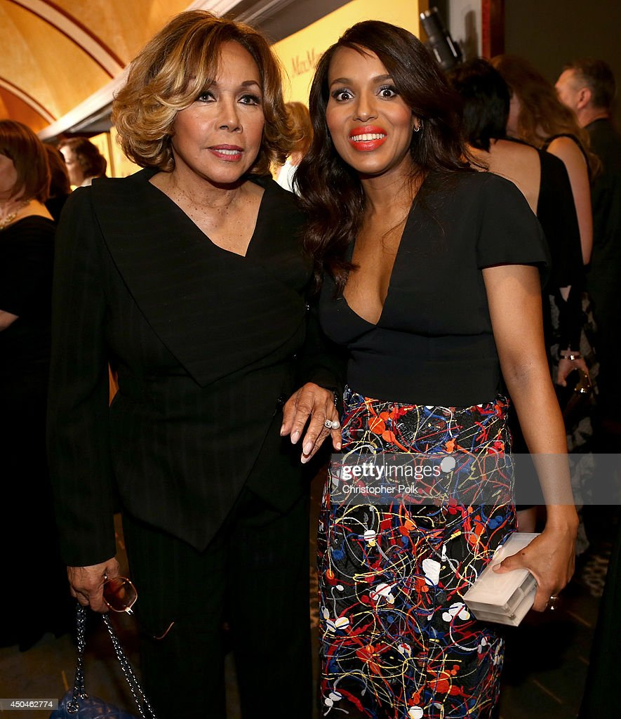 Actresses Diahann Carroll (L) and Kerry Washington attend Women In Film 2014 Crystal + Lucy Awards presented by MaxMara, BMW, Perrier-Jouet and South Coast Plaza held at the Hyatt Regency Century Plaza on June 11, 2014 in Los Angeles, California.