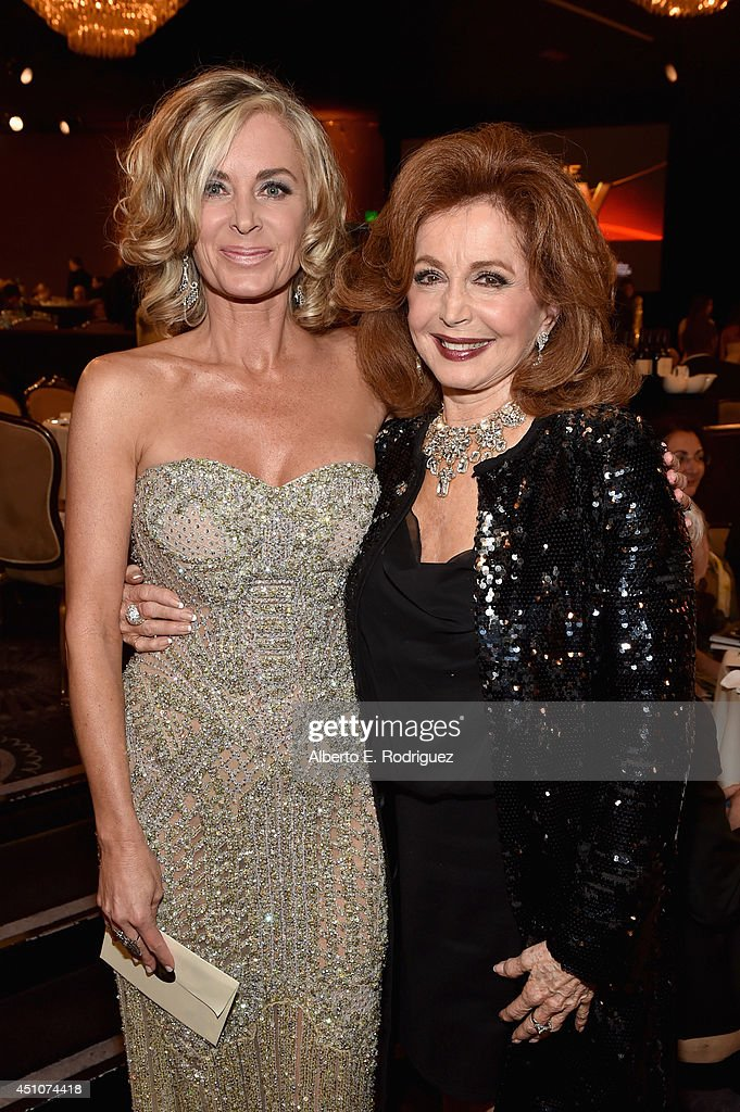 Actresses <a gi-track='captionPersonalityLinkClicked' href=/galleries/search?phrase=Eileen+Davidson&family=editorial&specificpeople=663986 ng-click='$event.stopPropagation()'>Eileen Davidson</a> (L) and <a gi-track='captionPersonalityLinkClicked' href=/galleries/search?phrase=Suzanne+Rogers+-+Actress&family=editorial&specificpeople=13902592 ng-click='$event.stopPropagation()'>Suzanne Rogers</a> attend The 41st Annual Daytime Emmy Awards at The Beverly Hilton Hotel on June 22, 2014 in Beverly Hills, California.